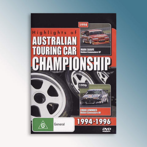 Highlights of the Australian Touring Car Championship 1994-1996 DVD