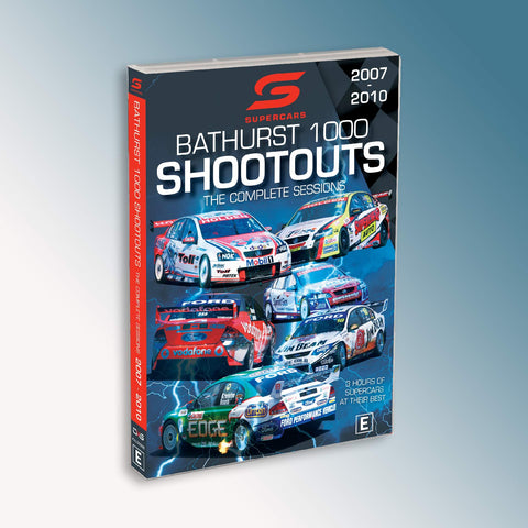 Supercars Bathurst Shootouts The Complete Sessions 2007-2010 DVD