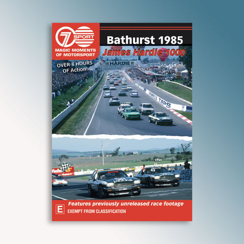 Bathurst 1985 James Hardie 1000 DVD
