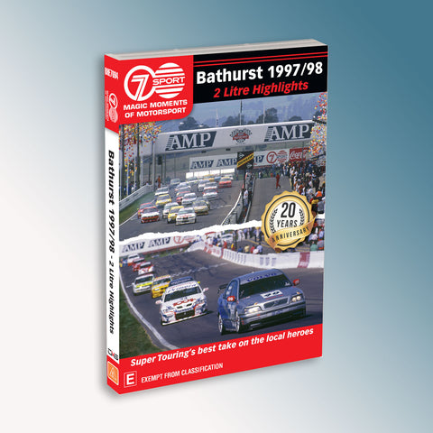 Bathurst 1997/98 2 Litre Highlights DVD