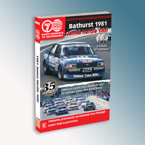 Bathurst 1981 James Hardie 1000 DVD