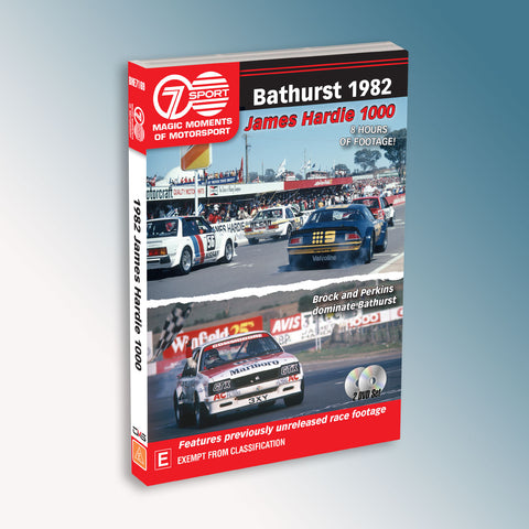 Bathurst 1982 James Hardie 1000 DVD