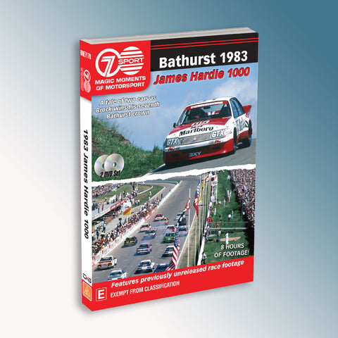 Bathurst 1983 James Hardie 1000 DVD