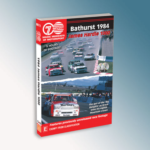 Bathurst 1984 James Hardie 1000 DVD