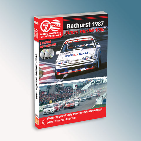 Bathurst 1987 James Hardie 1000 DVD