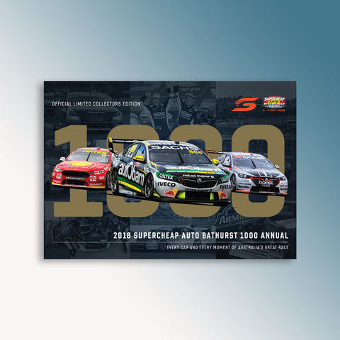 Official 2018 Supercheap Auto Bathurst 1000 Annual