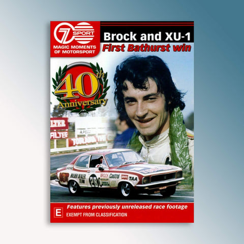 Brock and XU-1 - First Bathurst Win DVD