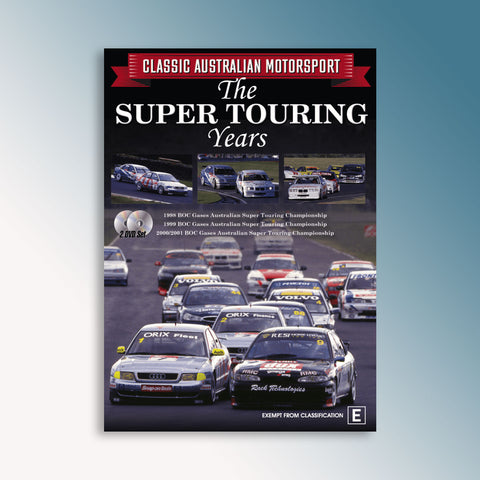 Classic Australian Motorsport The Super Touring Years DVD
