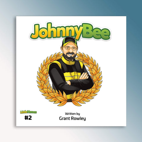 Little Heroes Johnny Bee Book (PRE-ORDER)