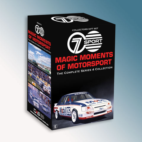 Magic Moments of Motorsport Series Four Collection DVD Box Set
