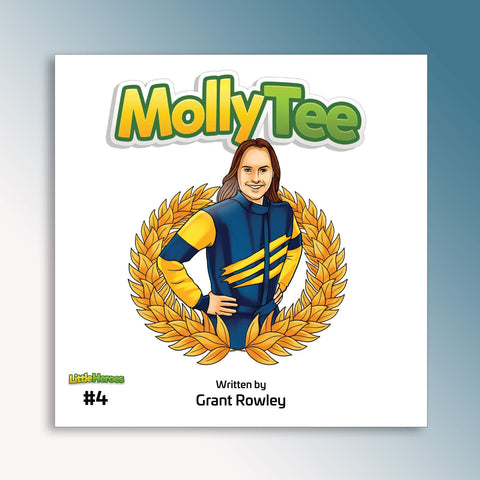 Little Heroes Molly Tee Book (PRE-ORDER)