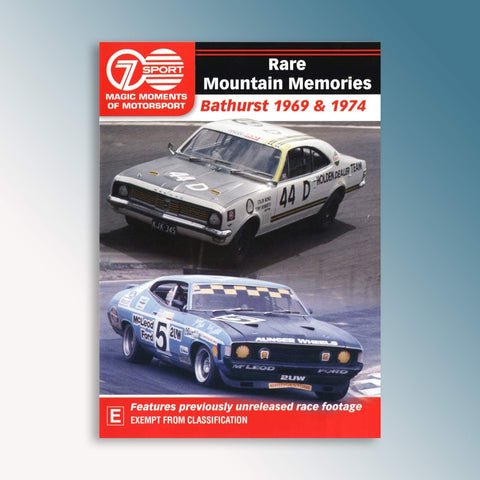 Rare Mountain Memories - Bathurst 1969 & 1974 DVD