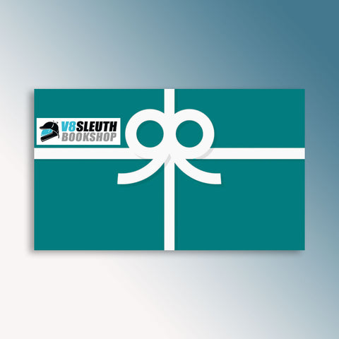 V8 Sleuth Bookshop Gift Card