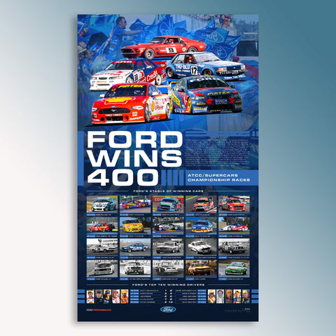 Ford Wins 400 Limited Edition Print (PRE-ORDER)