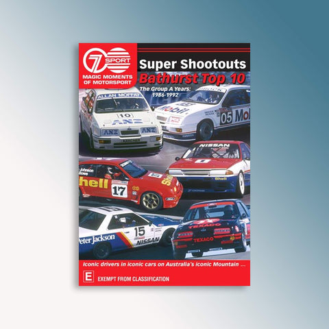 Super Shootouts Bathurst Top 10 (1986-1992) DVD