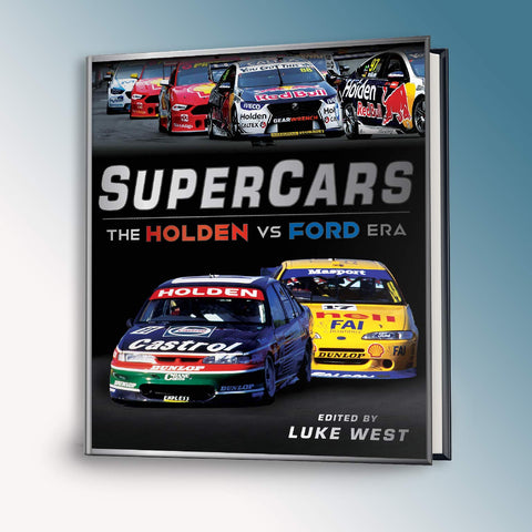 Supercars - The Holden Vs Ford Era Book (PRE-ORDER)