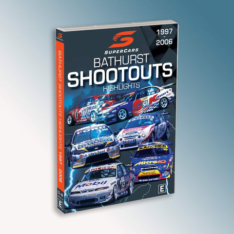 Supercars Bathurst Shootouts Highlights 1997-2006 DVD