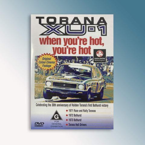 Torana XU-1 - When You're Hot, You're Hot DVD