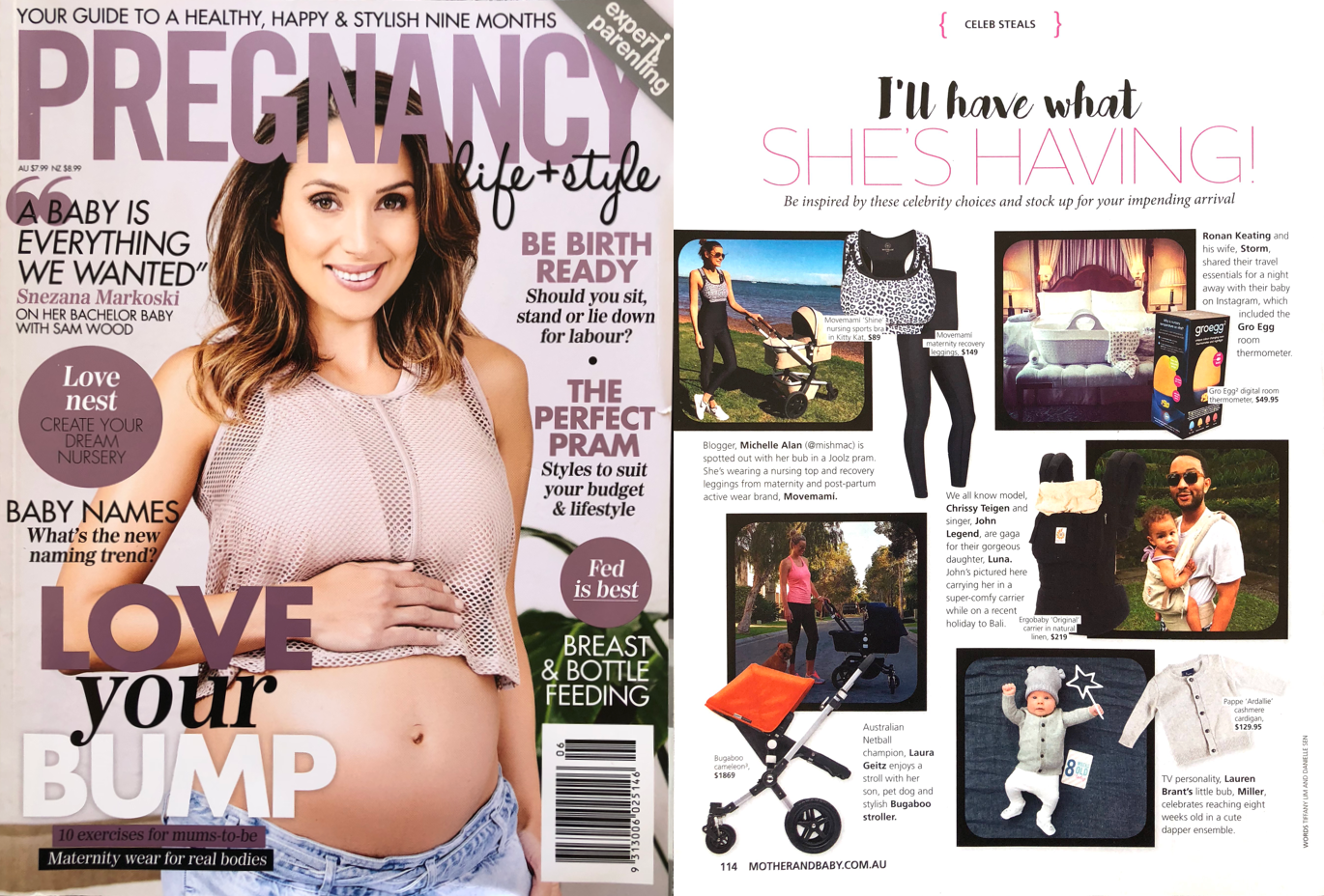 MOVEMAMI-featured-in-Mother-and-Baby-Pregnancy-and-Style-magazine