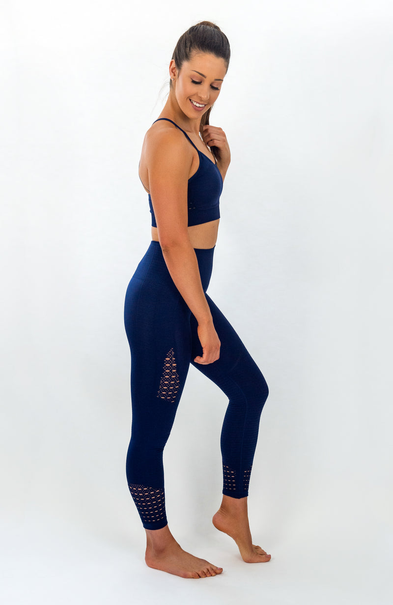 FAIRLIGHT Seamless Leggings - Midnight Blue