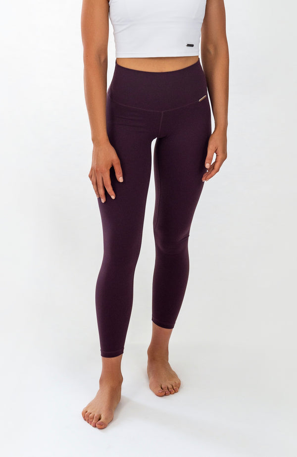 PALOMA Leggings - 7/8 AnkleBiters - Red Wine