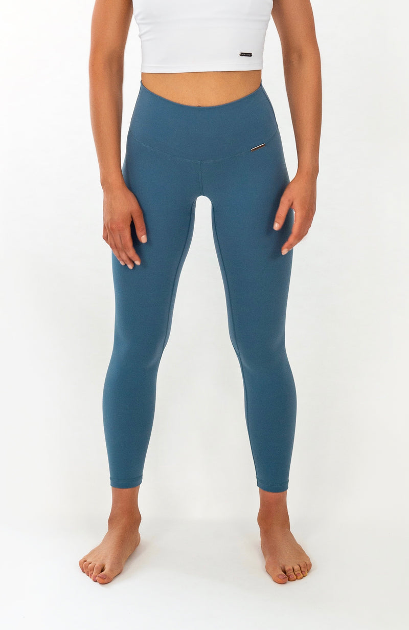 PALOMA Leggings - 7/8 AnkleBiters - Blue Slate