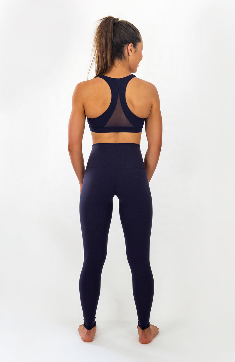 Zuma Sports Bra - Midnight Blue