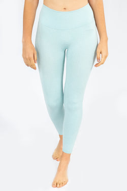 Savanna Leggings - Baby Blue
