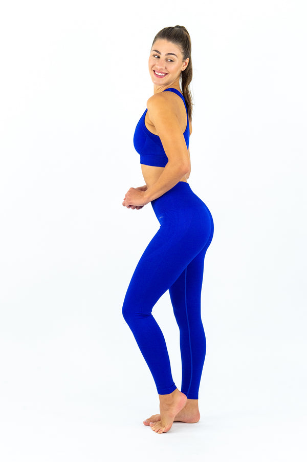 Elanora Seamless Leggings - Midnight Blue