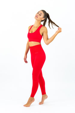 Elanora Seamless Leggings - Fire Starter