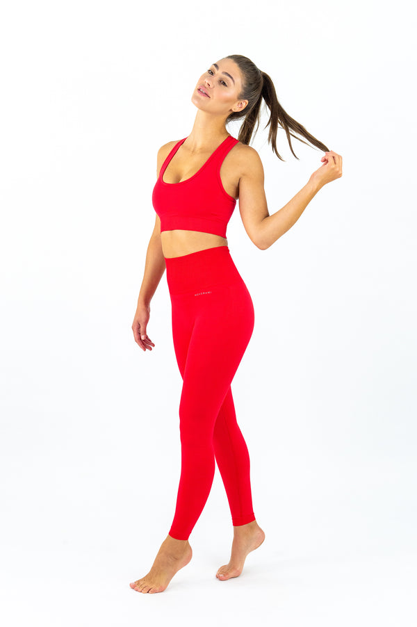ELANORA Seamless Leggings - 7/8 AnkleBiters - Fire Starter