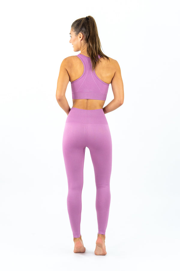 Avalon Seamless Sports Bra - French Rose