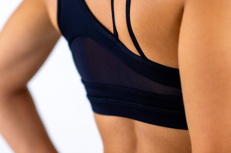 Panama Sports Bra - Black Ink