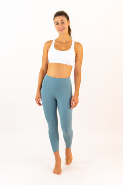 LONDON Leggings - 7/8 Capris - Blue Slate