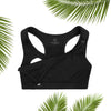 MOVEMAMÍ - 'SHINE' Nursing Sports Bra - Black Ink