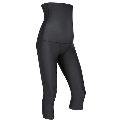 MOVEMAMÍ 'SCULPT' Maternity Recovery Leggings - 3/4 Capris - Black Ink - MOVEMAMI - Best Maternity Activewear