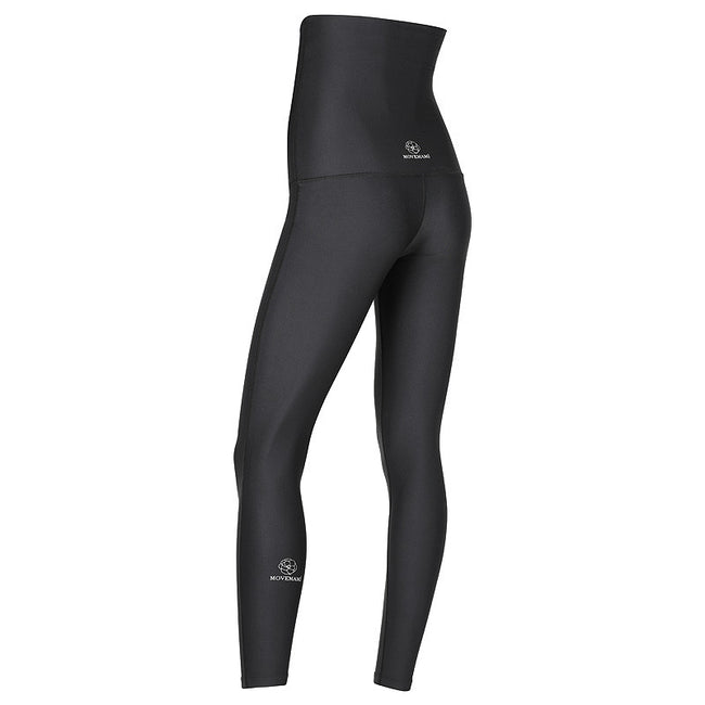 MOVEMAMÍ 'SCULPT' Maternity Recovery Leggings - 7/8 AnkleBiters - Black Ink - MOVEMAMI - Best Maternity Activewear