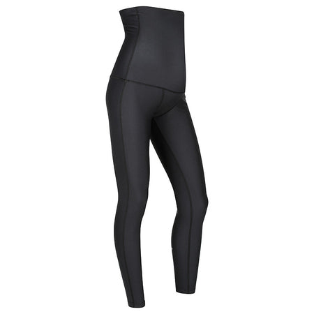 MOVEMAMÍ PREGNANCY SUPPORT 'ADJUSTABLE' Leggings - 7/8 AnkleBiters - Black Ink
