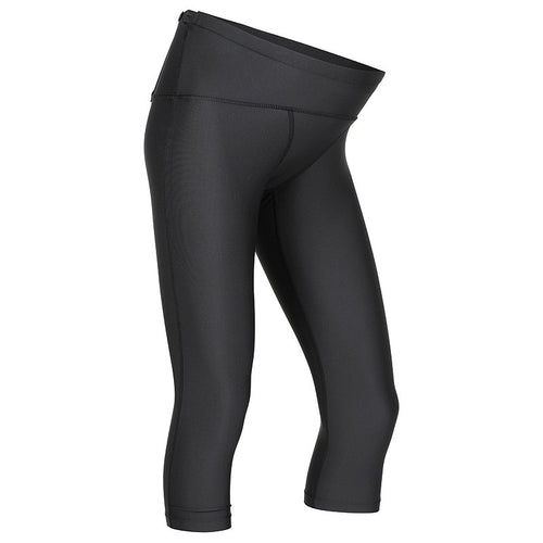 MOVEMAMÍ PREGNANCY SUPPORT 'ADJUSTABLE' Leggings - 3/4 Capris - Black Ink - MOVEMAMI - Best Maternity Activewear