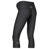 MOVEMAMÍ PREGNANCY SUPPORT Leggings - 3/4 Capris - Black Ink