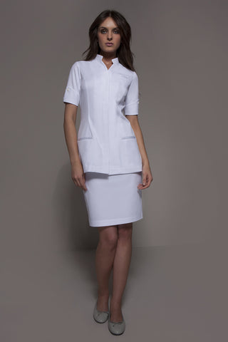 NAGOYA Tunic (White) by STYLEMONARCHY. Spas - Beauty - Medical