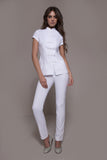 STYLEMONARCHY Spa Uniforms & Medical Uniforms. SHANGHAI & CORDOBA Set (White) - stylemonarchy.com