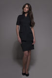 STYLEMONARCHY Spa Uniforms & Hospitality Uniforms. NIAGARA & MANHATTAN Set (Black) - stylemonarchy.com