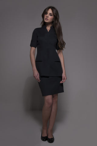 SEATTLE Tunic (Black) by STYLEMONARCHY. For Spas - Beauty - Medical