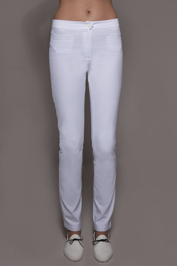 CORDOBA Pants (White) - Spa - Beauty - Medical, Pants - stylemonarchy.com