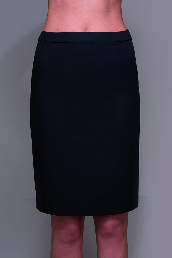 STYLEMONARCHY Spa Uniforms & Hospitality Uniforms. MANHATTAN Skirt (Black) - stylemonarchy.com