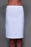 STYLEMONARCHY Spa Uniforms & Medical Uniforms. SHANGHAI & MANHATTAN Set (White), Manhattan Skirt - stylemonarchy.com