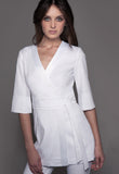 NAGOYA Tunic (White) by STYLEMONARCHY. Spas - Beauty - Medical, Tunics - stylemonarchy.com
