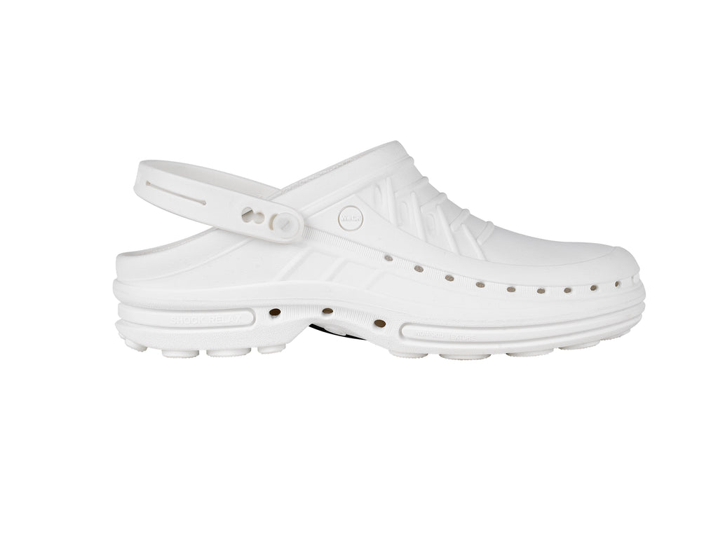 STELLA Professional Shoes White for Spa, Welness, Dental, Nurse. Medical - STYLEMONARCHY, Professional Shoes - stylemonarchy.com
