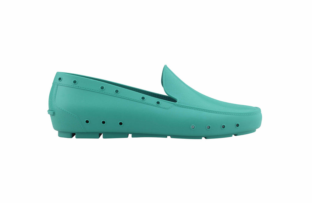 Lea Moccasins Professional Shoes Green for Spa, Welness, Dental, Nurse. Medical, Pharmacy - STYLEMONARCHY, Occupational Shoes - stylemonarchy.com